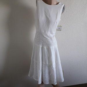 BOGO Kasper 4 NWT Ivory Dress Lace Women